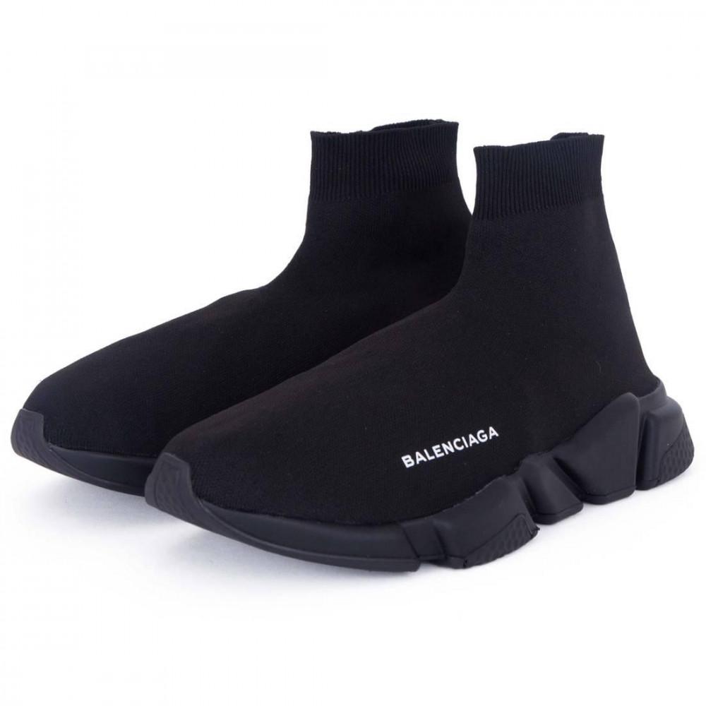 Беговые кроссовки мужские  - Кроссовки Balenciaga Speed Trainer All Black 7