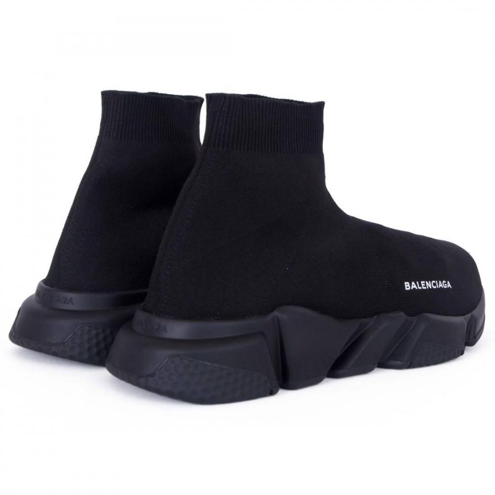 Беговые кроссовки мужские  - Кроссовки Balenciaga Speed Trainer All Black 8