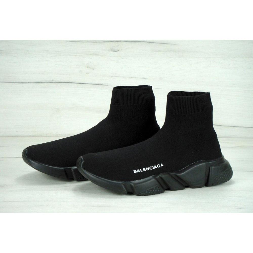 Беговые кроссовки мужские  - Кроссовки Balenciaga Speed Trainer All Black