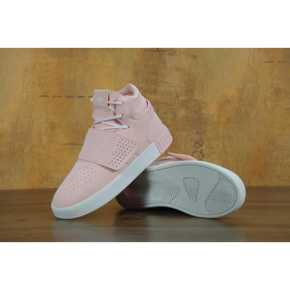Кроссовки - Кроссовки Adidas Tubular Invader Strap Pink 2