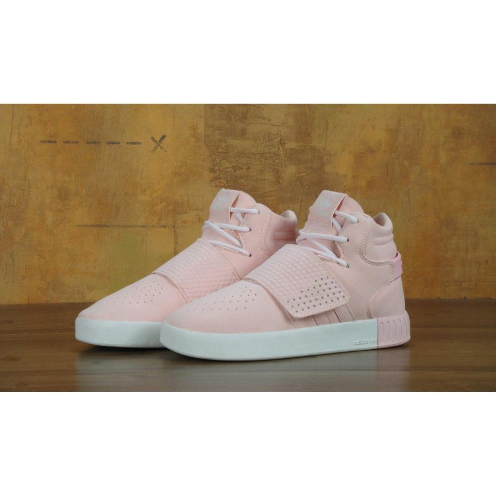 Кроссовки - Кроссовки Adidas Tubular Invader Strap Pink 3