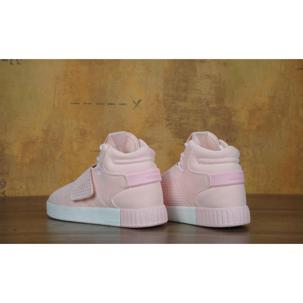 Кроссовки - Кроссовки Adidas Tubular Invader Strap Pink 5