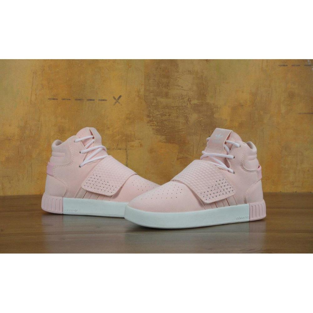 Кроссовки - Кроссовки Adidas Tubular Invader Strap Pink 1