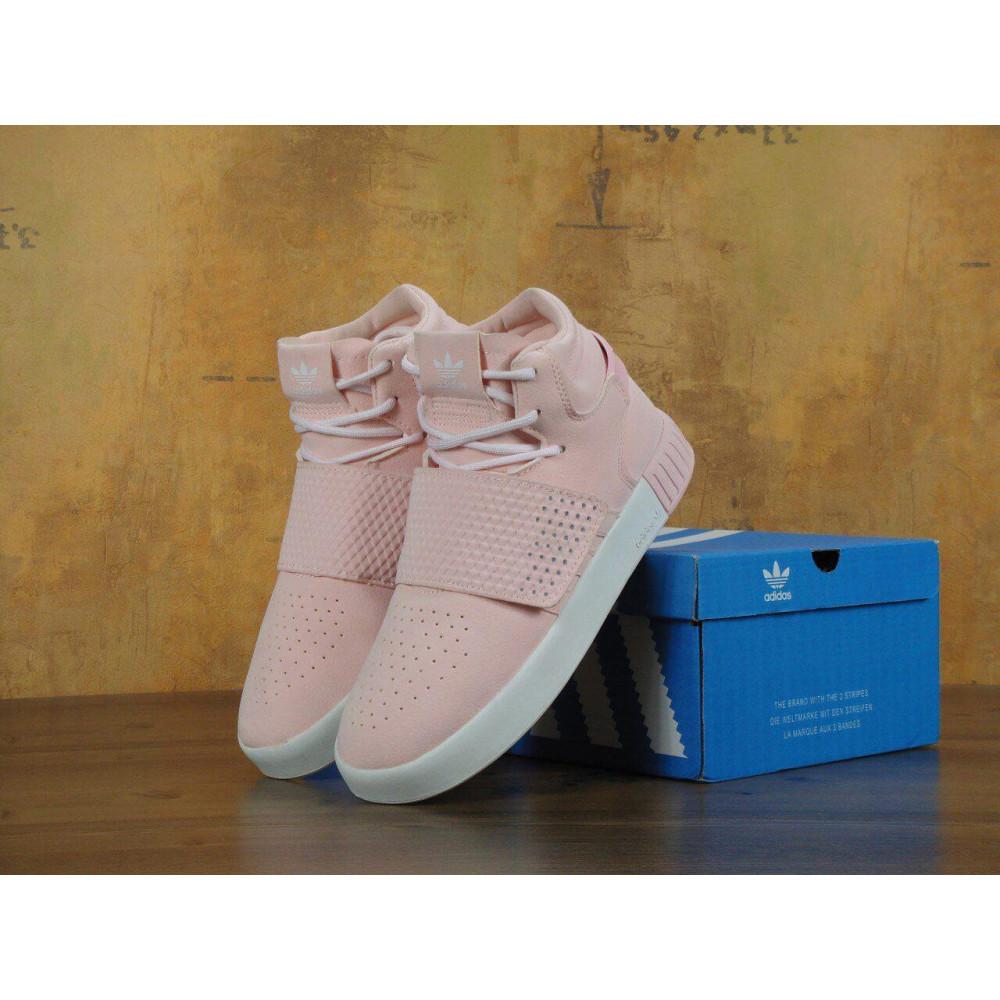 Кроссовки - Кроссовки Adidas Tubular Invader Strap Pink