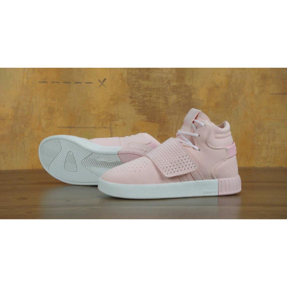 Кроссовки - Кроссовки Adidas Tubular Invader Strap Pink 4