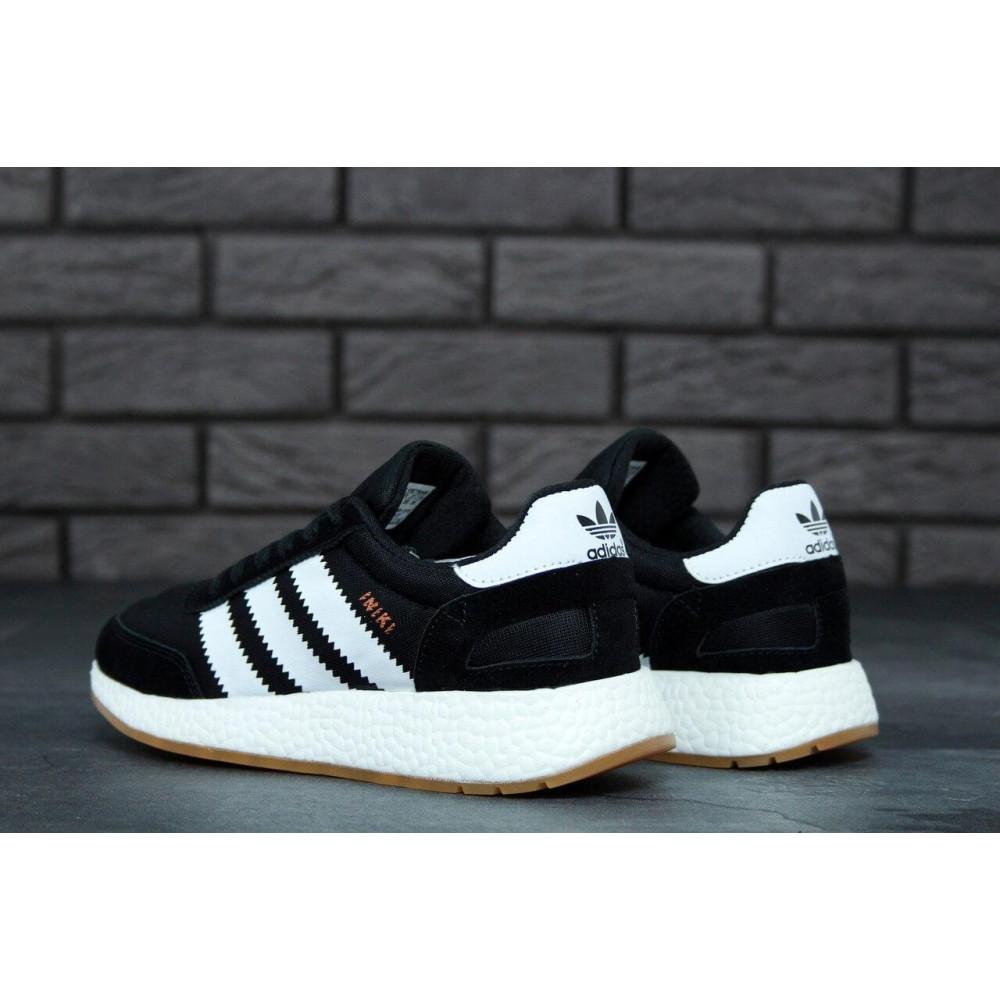 Беговые кроссовки мужские  - Черные кроссовки Adidas Iniki Runner 7