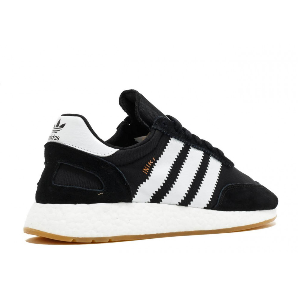 Беговые кроссовки мужские  - Черные кроссовки Adidas Iniki Runner 2