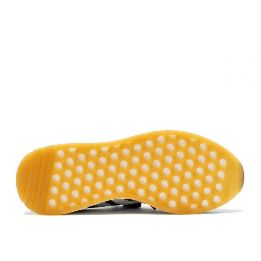 Беговые кроссовки мужские  - Черные кроссовки Adidas Iniki Runner 1