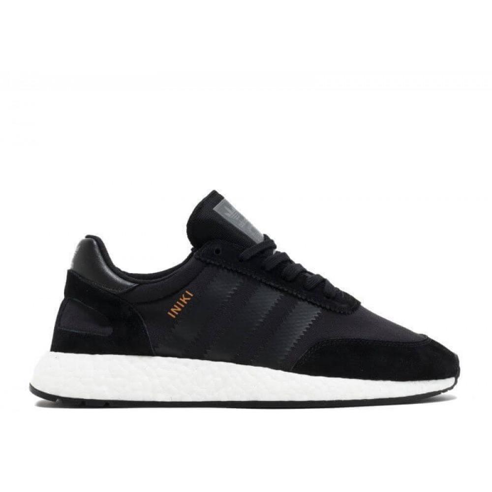Беговые кроссовки мужские  - Кроссовки Adidas Iniki Black 4