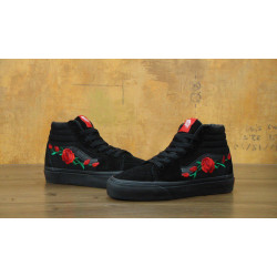 Кеды Vans SK8 Old Skool Black Core Rose