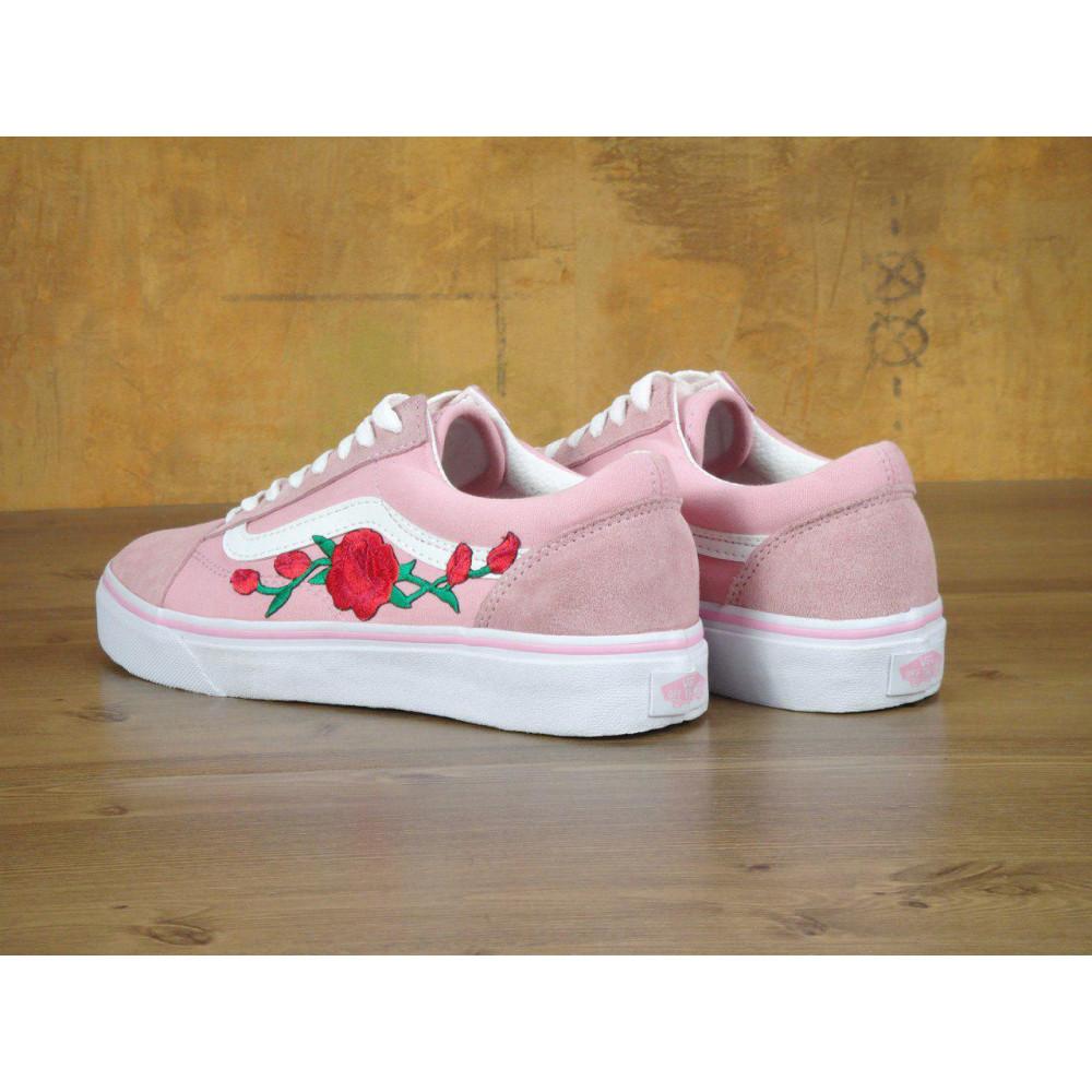 Женские кеды демисезонные - Кеды Vans Old Skool Pink Rose 2