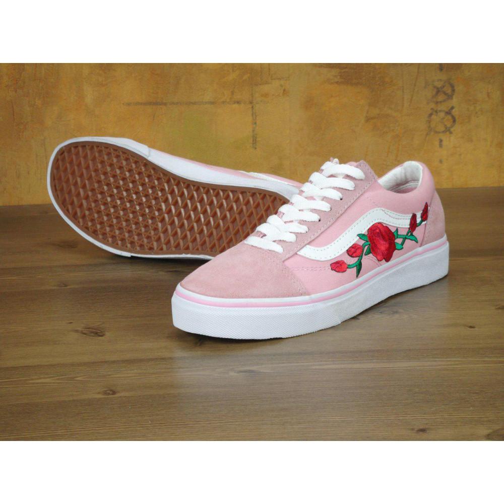Женские кеды демисезонные - Кеды Vans Old Skool Pink Rose
