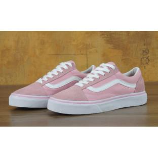 Кеды Vans Old Skool Pink White