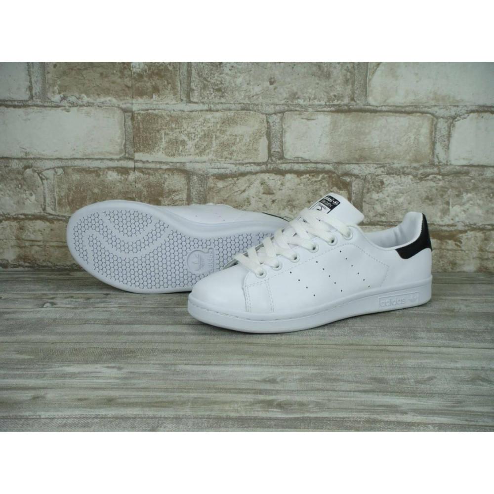 Классические кроссовки мужские - Кроссовки Adidas Stan Smith White Black 7