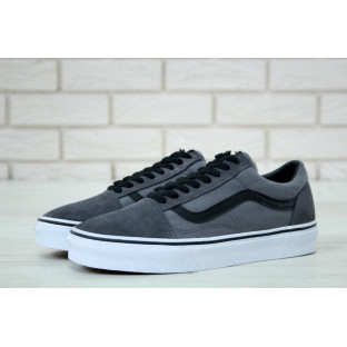 Кеды Vans Old School Black Grey Black