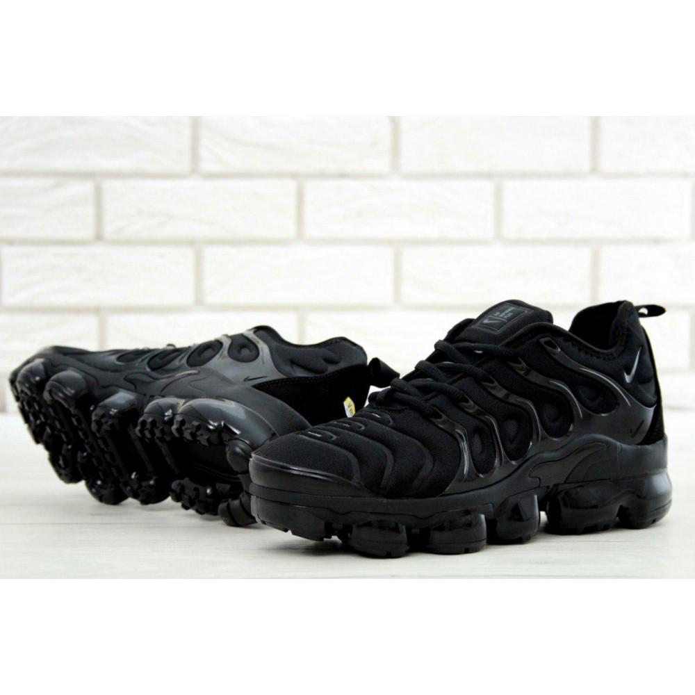 Летние кроссовки мужские - Мужские черные кроссовки Air Vapormax Plus 6