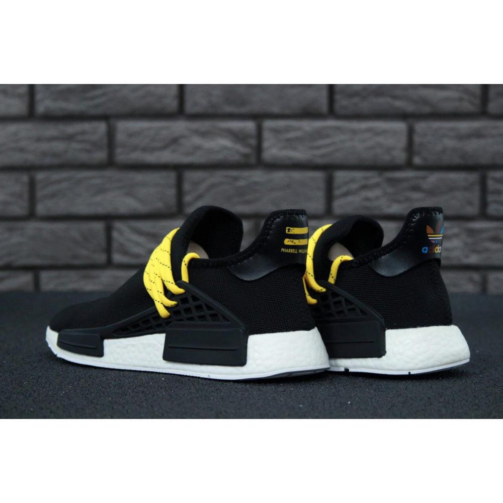 Беговые кроссовки мужские  - Кроссовки Adidas Nmd Human Race Men Core Black 8