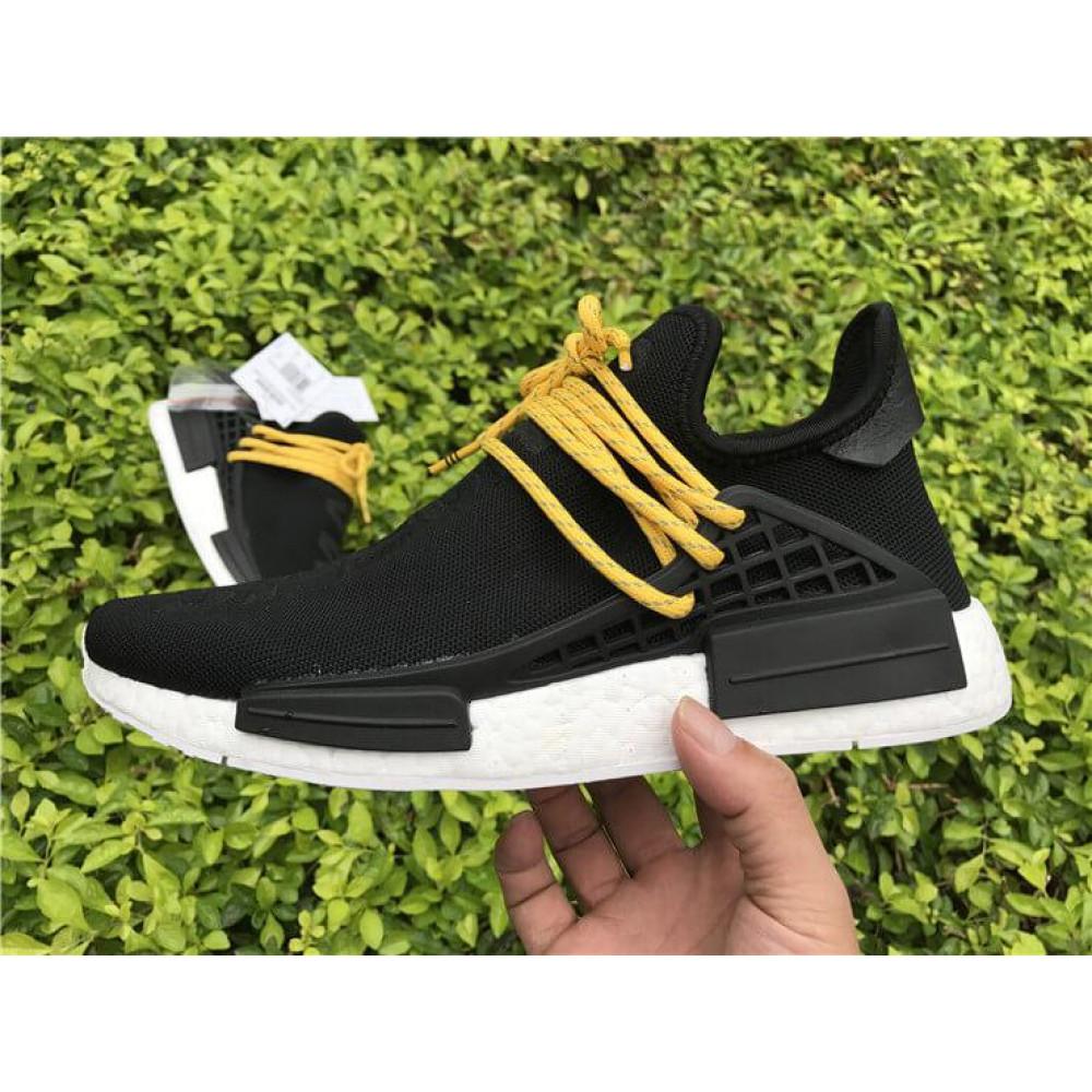 Беговые кроссовки мужские  - Кроссовки Adidas Nmd Human Race Men Core Black 6