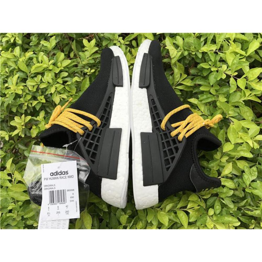 Беговые кроссовки мужские  - Кроссовки Adidas Nmd Human Race Men Core Black 5