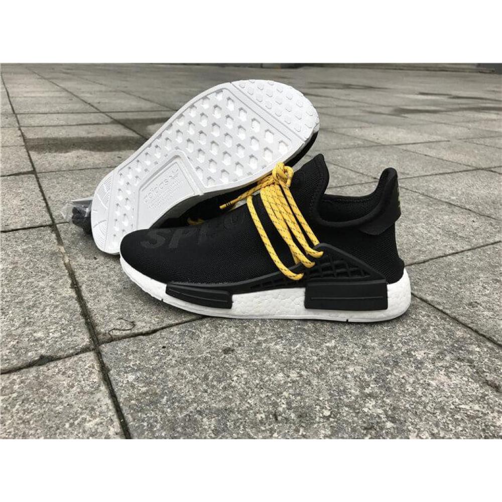 Беговые кроссовки мужские  - Кроссовки Adidas Nmd Human Race Men Core Black 3