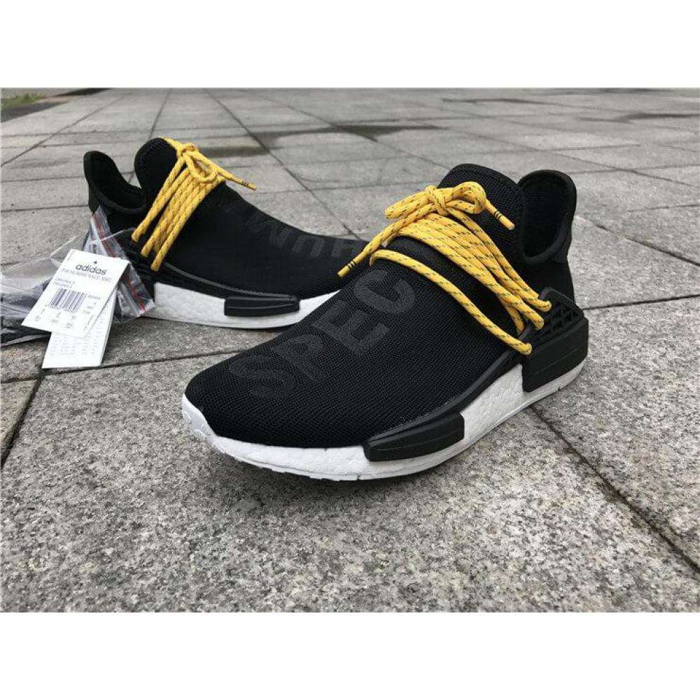 Беговые кроссовки мужские  - Кроссовки Adidas Nmd Human Race Men Core Black 7
