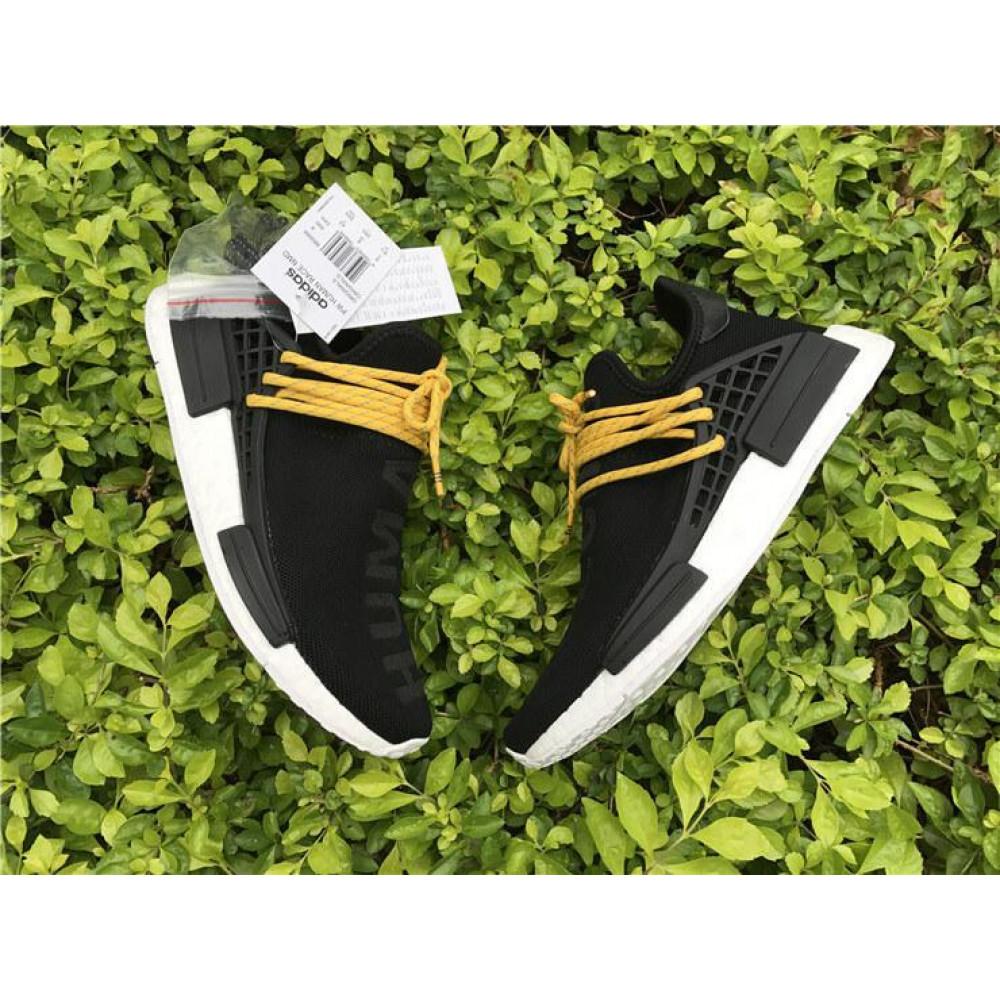 Беговые кроссовки мужские  - Кроссовки Adidas Nmd Human Race Men Core Black 4