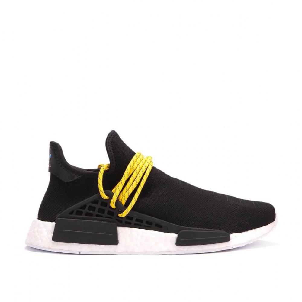 Беговые кроссовки мужские  - Кроссовки Adidas Nmd Human Race Men Core Black 2
