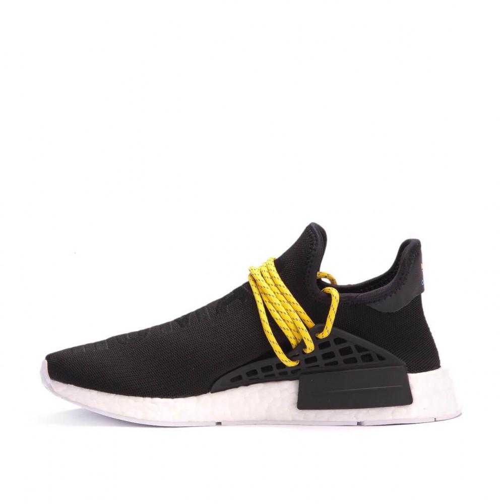 Беговые кроссовки мужские  - Кроссовки Adidas Nmd Human Race Men Core Black 1