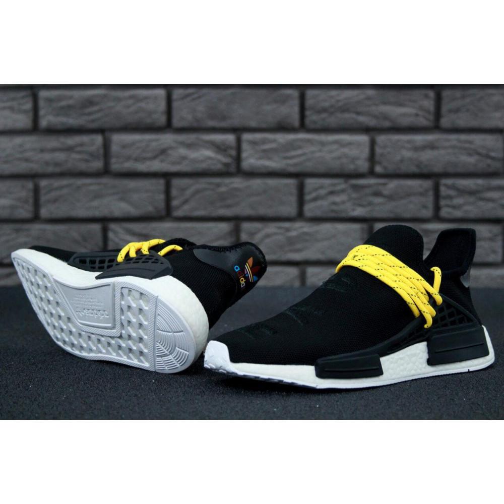 Беговые кроссовки мужские  - Кроссовки Adidas Nmd Human Race Men Core Black 9