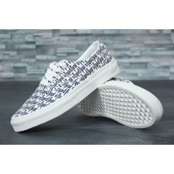 Кеды Vans Authentic White Fear