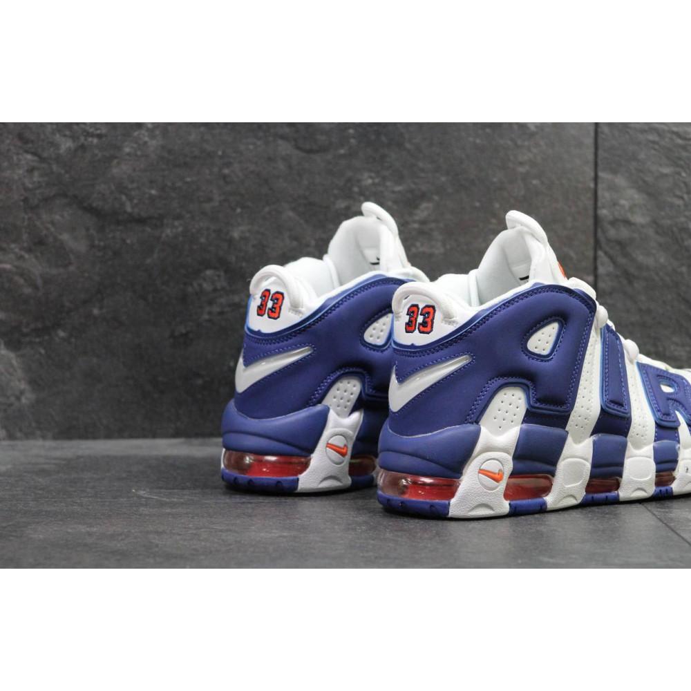 Демисезонные кроссовки мужские   - Мужские кроссовки Nike Air More Uptempo Olympic Navy Blue 9