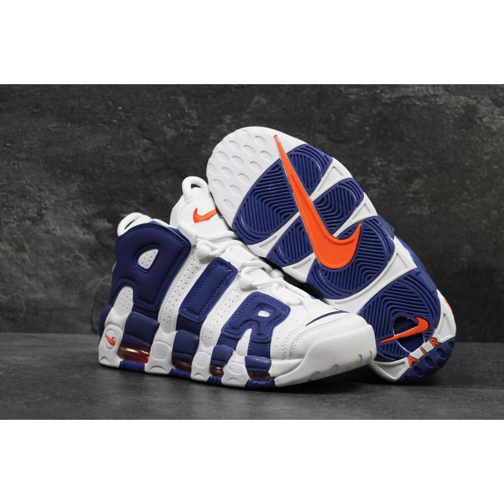 Демисезонные кроссовки мужские   - Мужские кроссовки Nike Air More Uptempo Olympic Navy Blue