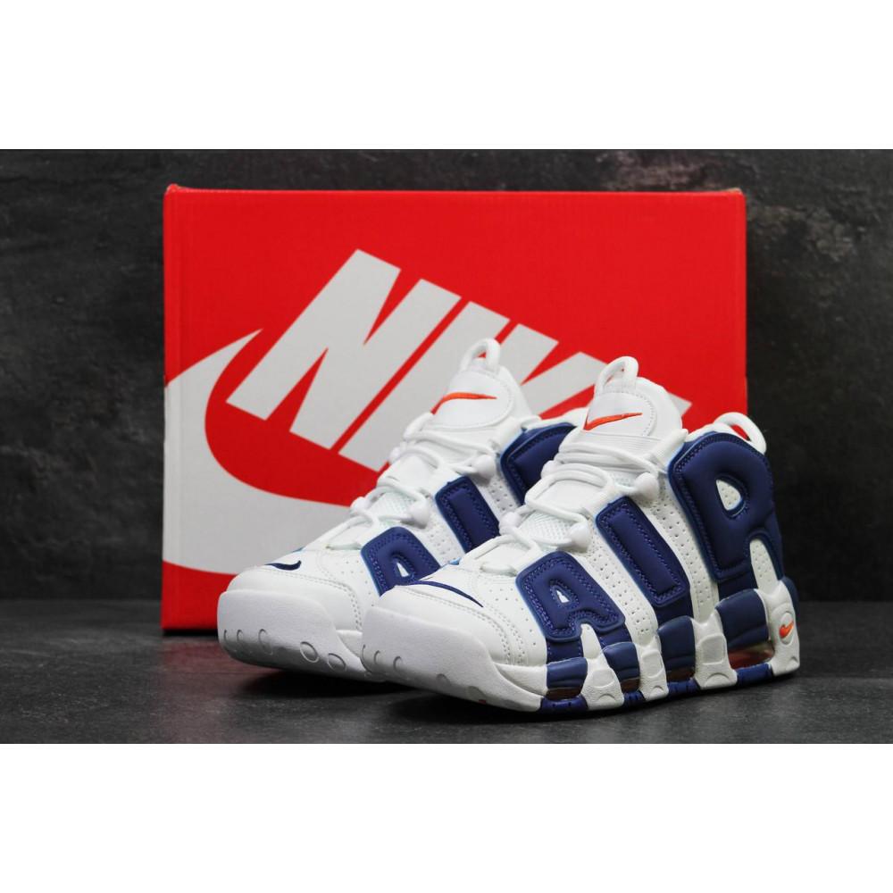 Демисезонные кроссовки мужские   - Мужские кроссовки Nike Air More Uptempo Olympic Navy Blue 8