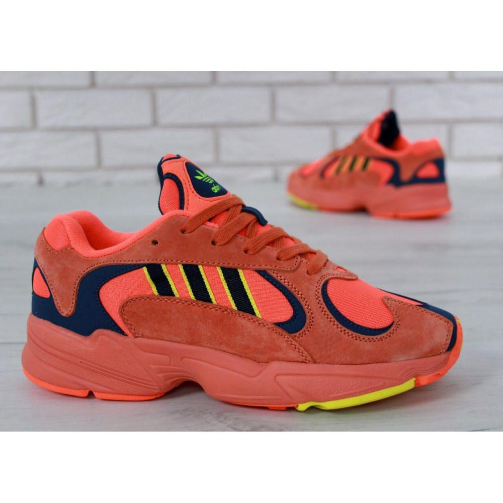 Демисезонные кроссовки мужские   - Мужские кроссовки Adidas Yung Orange 5