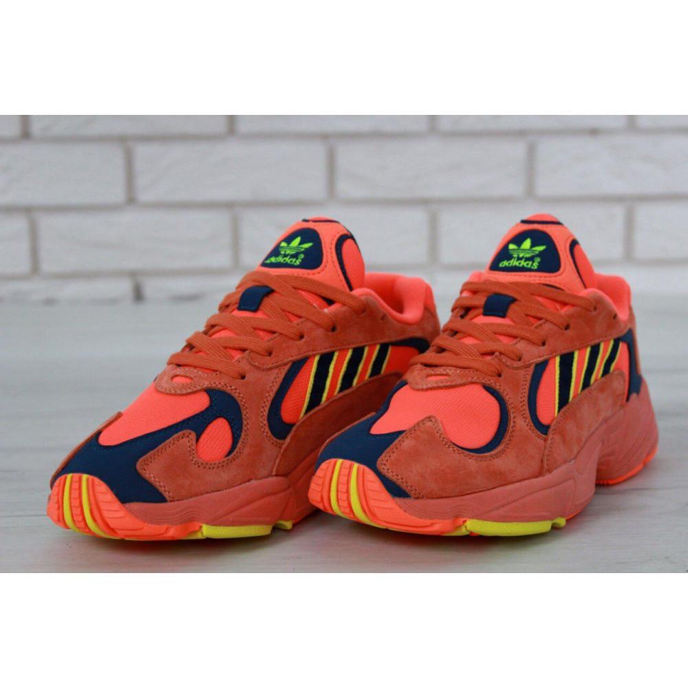 Демисезонные кроссовки мужские   - Мужские кроссовки Adidas Yung Orange 1