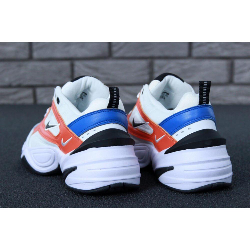 Классические кроссовки мужские - Мужские кроссовки Найк М2К Текно White Blue Red 5