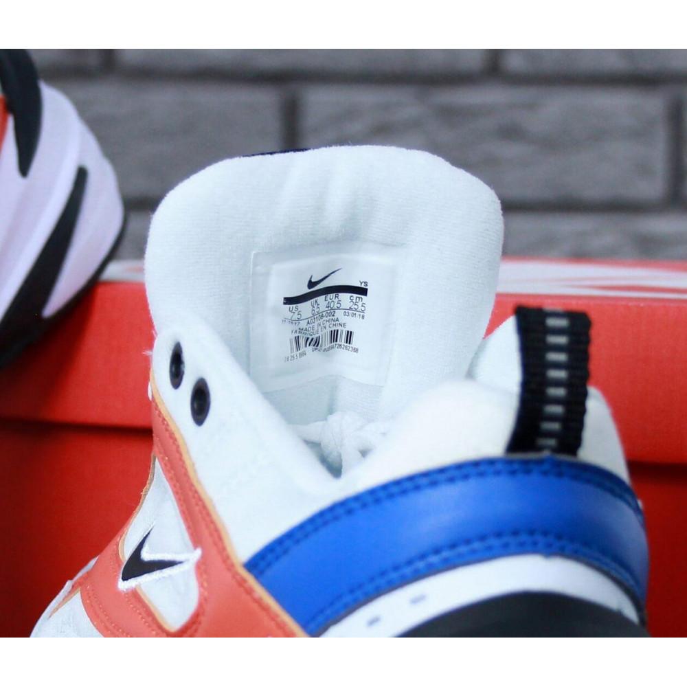 Классические кроссовки мужские - Мужские кроссовки Найк М2К Текно White Blue Red 7
