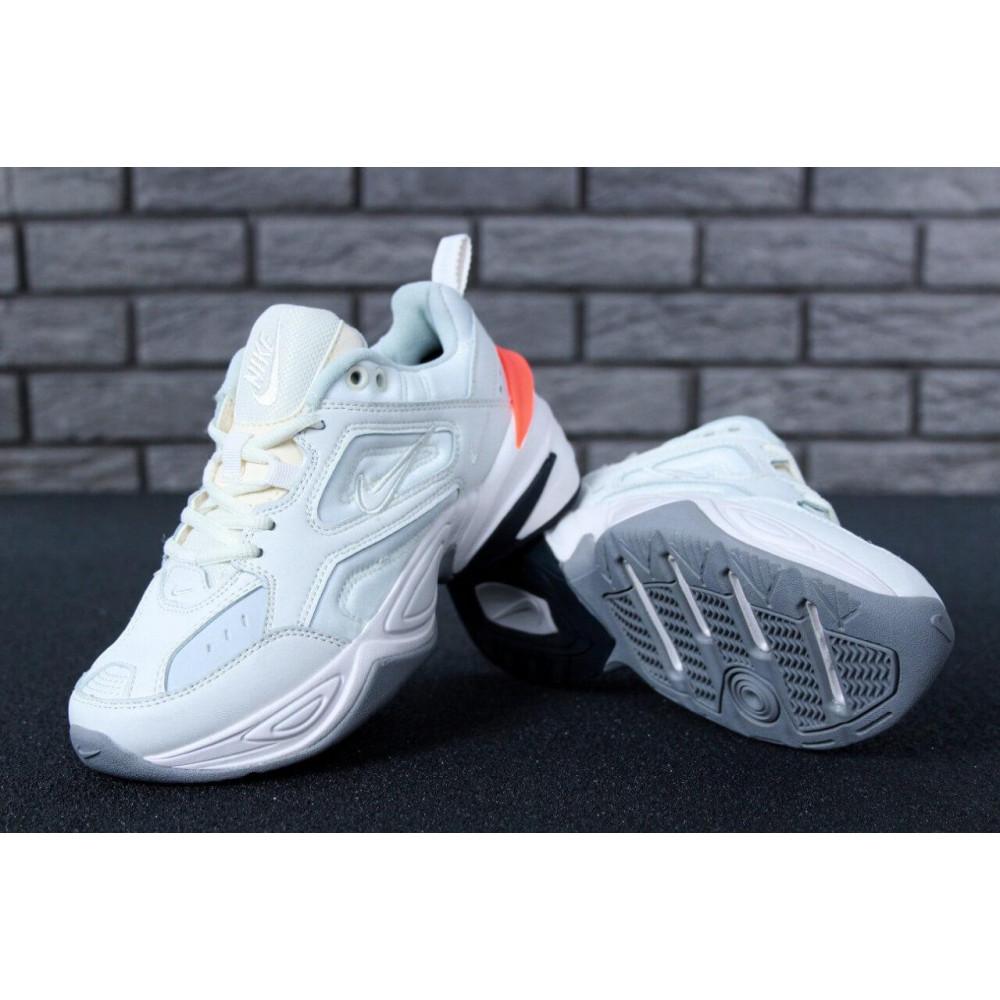 Демисезонные кроссовки мужские   - Кроссовки Найк М2К Текно White 4