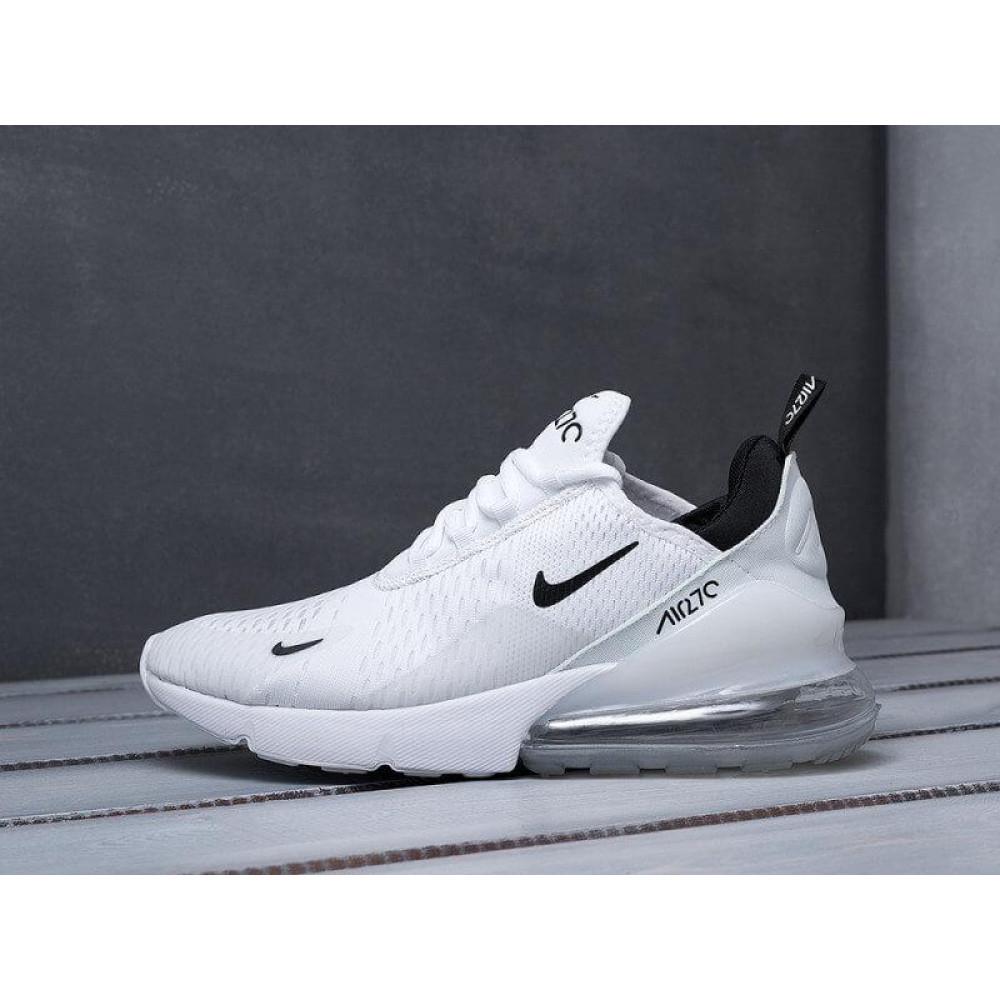 Демисезонные кроссовки мужские   - Белые мужские кроссовки Nike Air Max 270 2