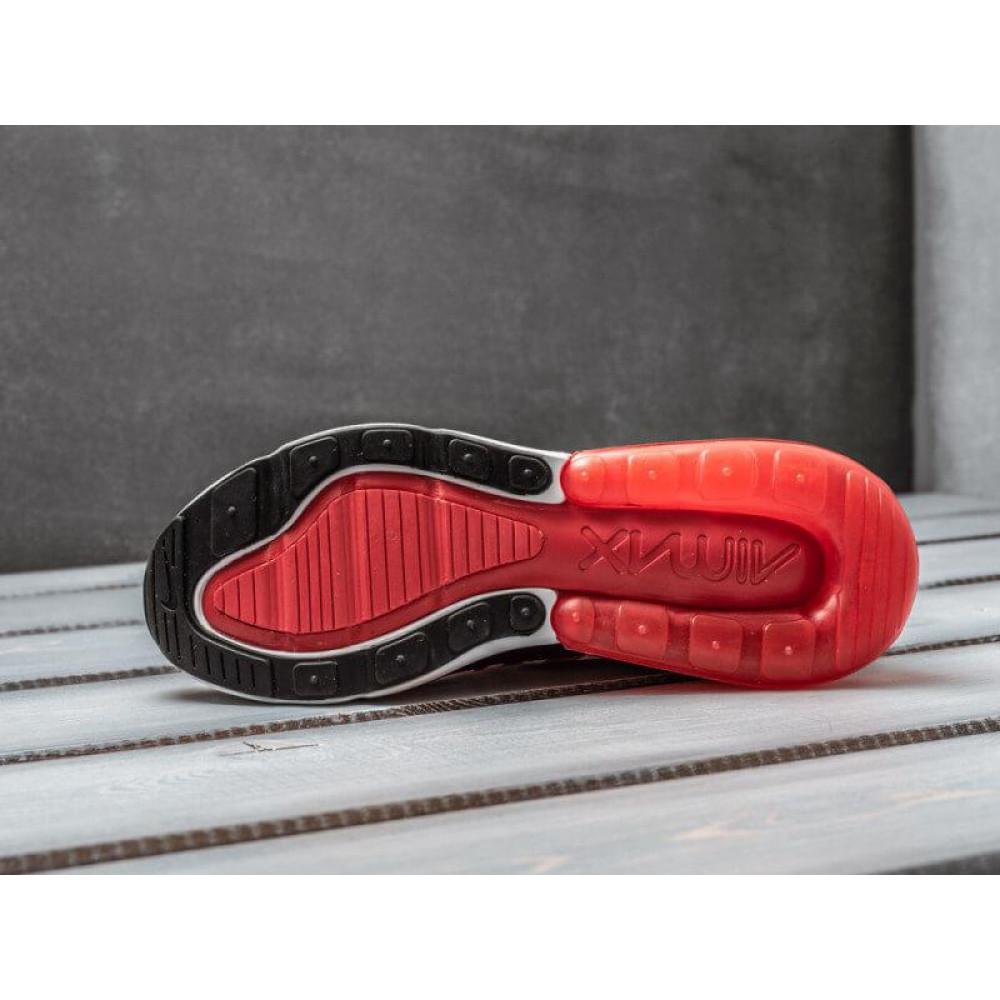 Демисезонные кроссовки мужские   - Мужские кроссовки Nike Air Max 270 Supreme красного цвета 4