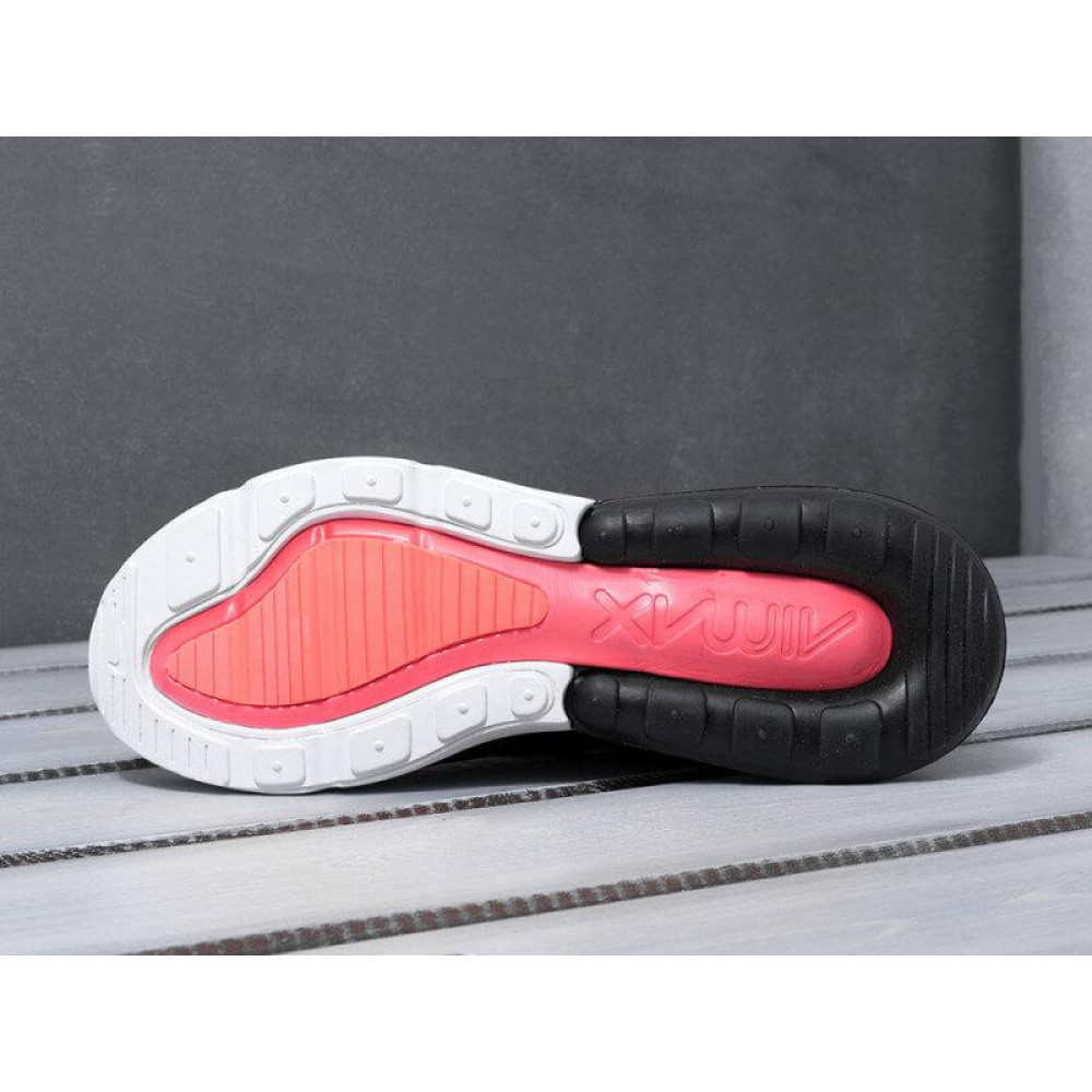Демисезонные кроссовки мужские   - Мужские кроссовки Nike Air Max 270 черно-белые 3