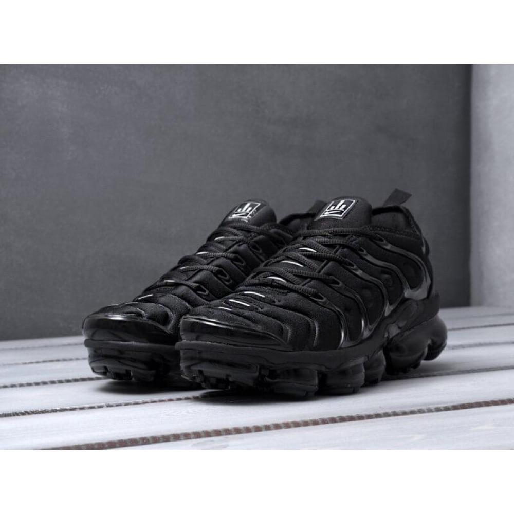 Летние кроссовки мужские - Мужские черные кроссовки Air Vapormax Plus 2