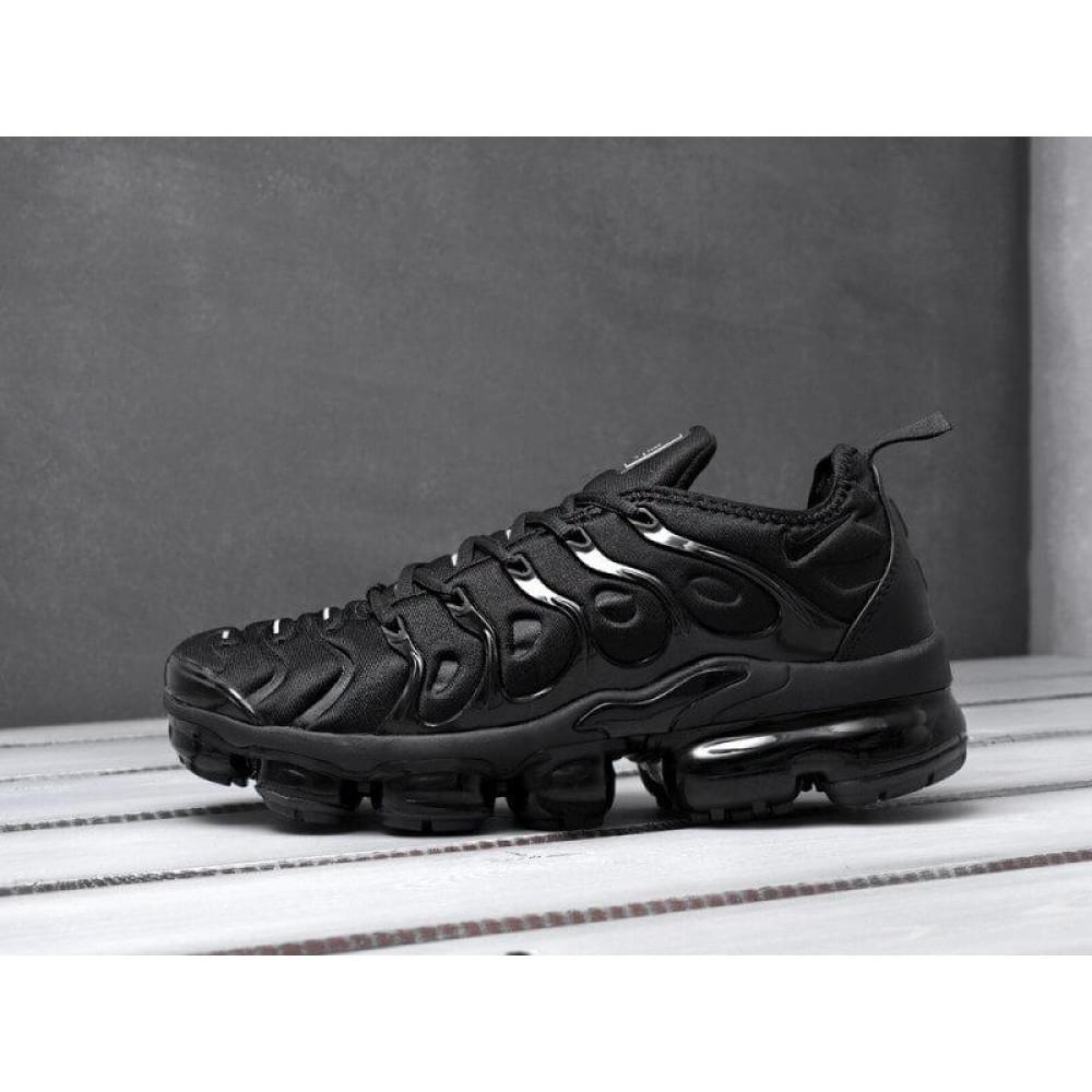 Летние кроссовки мужские - Мужские черные кроссовки Air Vapormax Plus 1