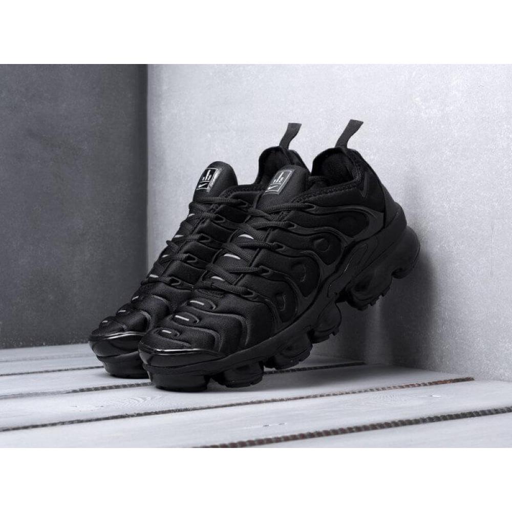 Летние кроссовки мужские - Мужские черные кроссовки Air Vapormax Plus