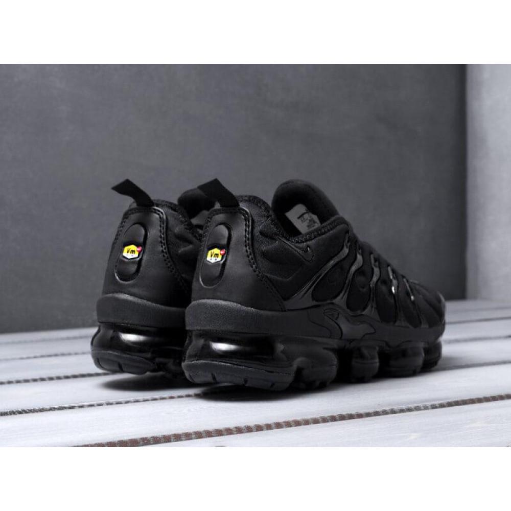 Летние кроссовки мужские - Мужские черные кроссовки Air Vapormax Plus 3