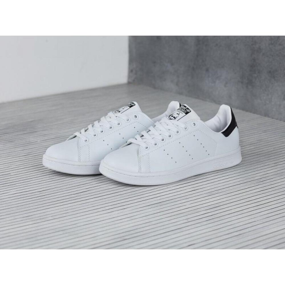 Классические кроссовки мужские - Кроссовки Adidas Stan Smith White Black 4