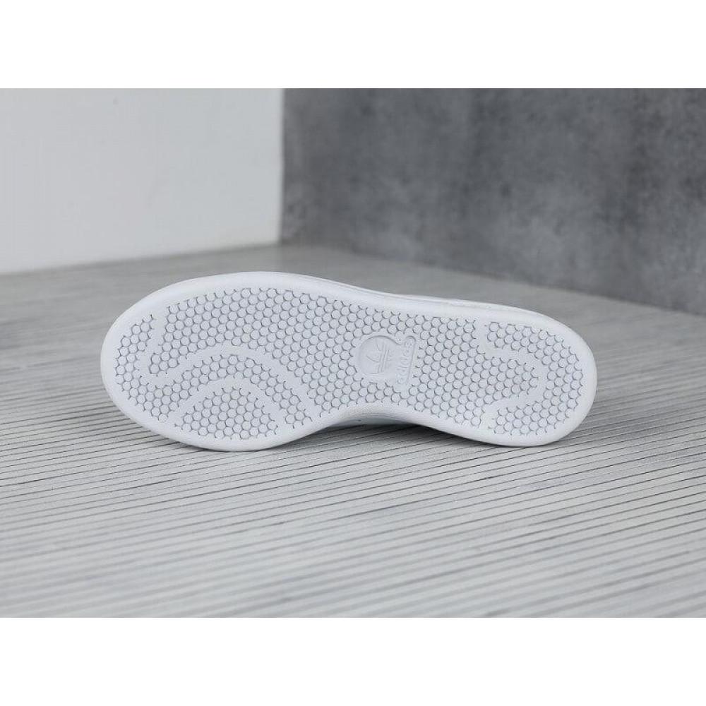 Классические кроссовки мужские - Кроссовки Adidas Stan Smith White Black 3