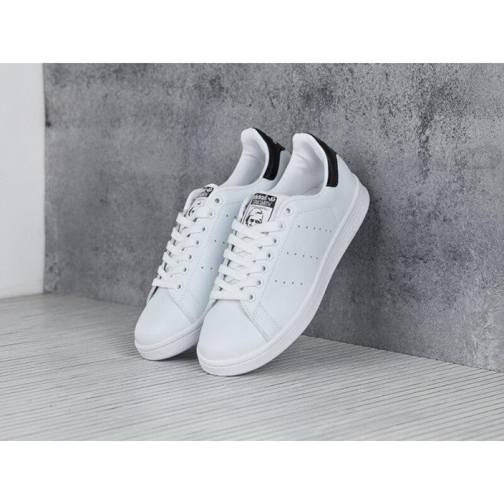 Классические кроссовки мужские - Кроссовки Adidas Stan Smith White Black