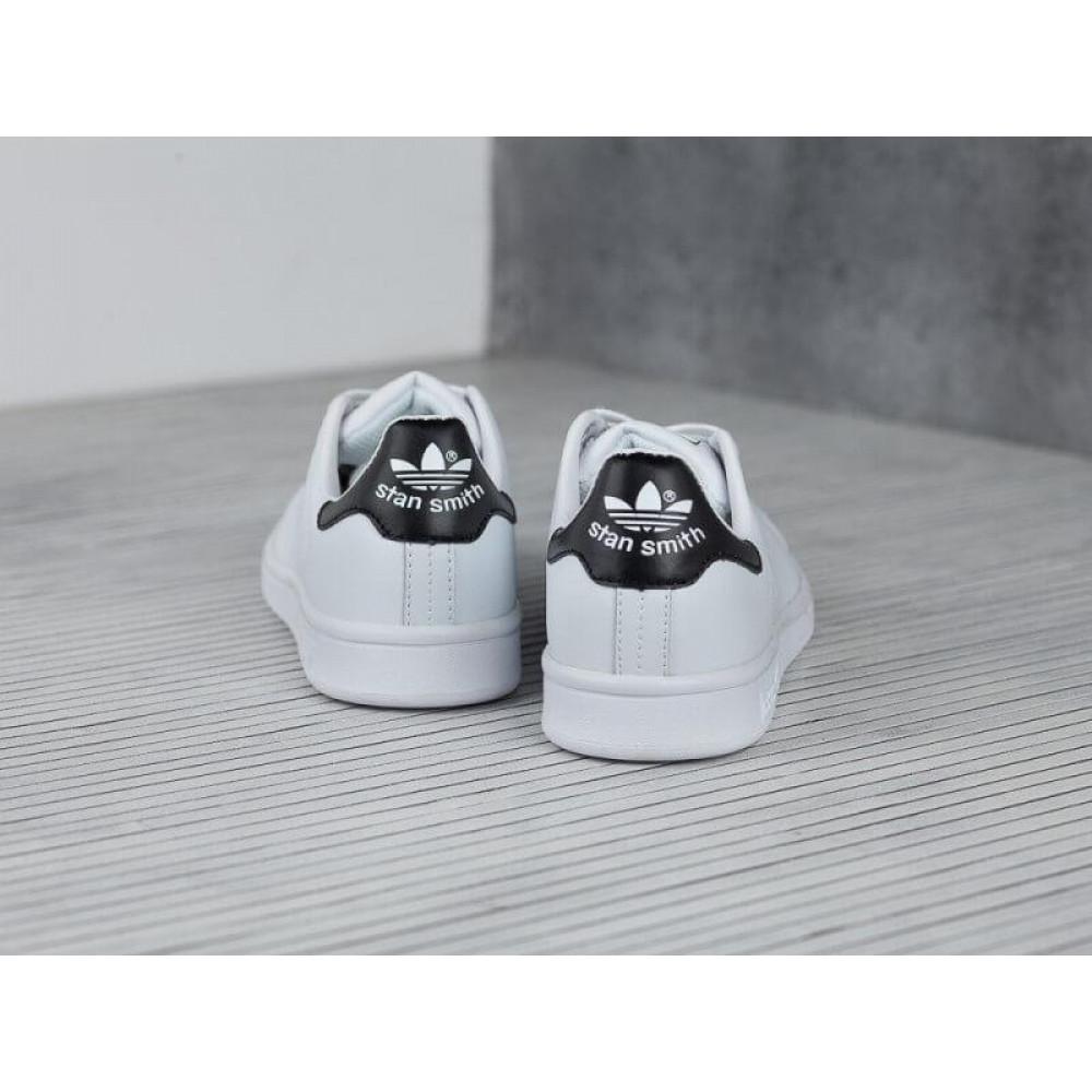 Классические кроссовки мужские - Кроссовки Adidas Stan Smith White Black 2