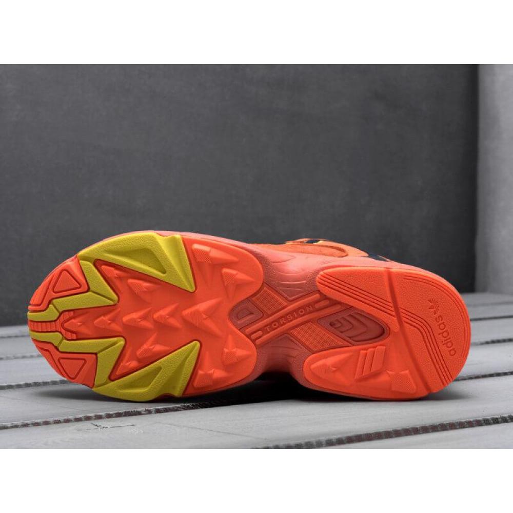 Демисезонные кроссовки мужские   - Мужские кроссовки Adidas Yung Orange 6